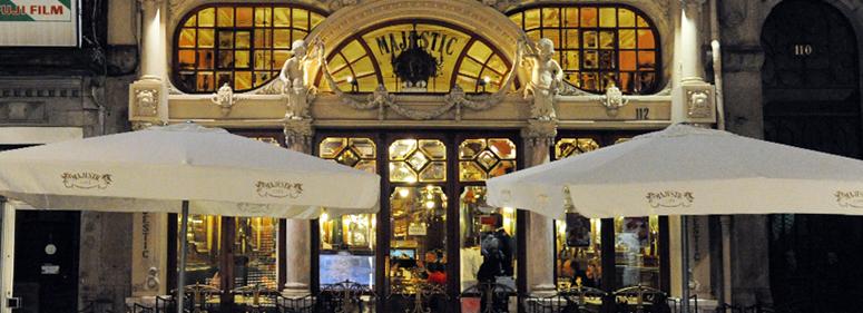 majestic café no Porto - nacionalidade portuguesa