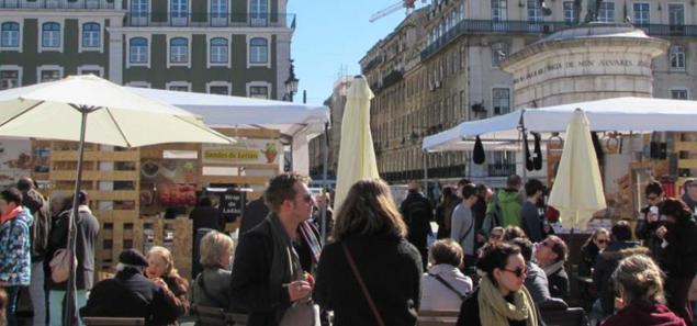 Mercado da Praça da Figueira, Rossio - nacionalidade portuguesa
