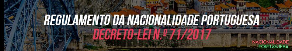 regulamento da nacionalidade portuguesa - nacionalidade portuguesa