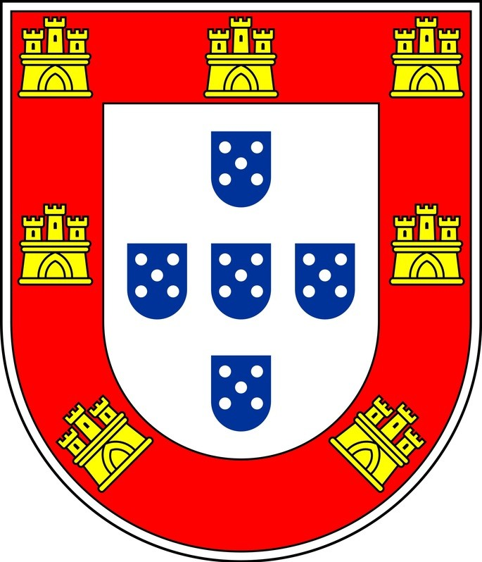 escudo da bandeira de Portugal