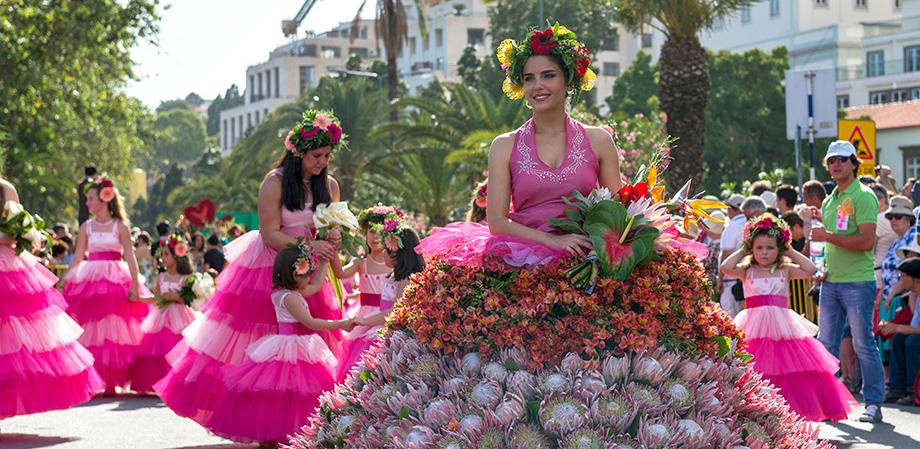 Festa da Flor, Ilha da Madeira - nacionalidade portuguesa