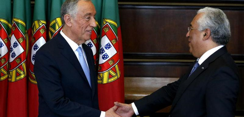 O Presidente da República e o Primeiro-Ministro de Portugal - nacionalidade portuguesa