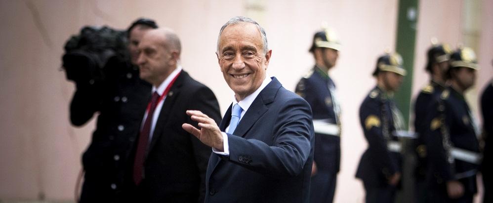 atual presidente de Portugal - nacionalidade portuguesa