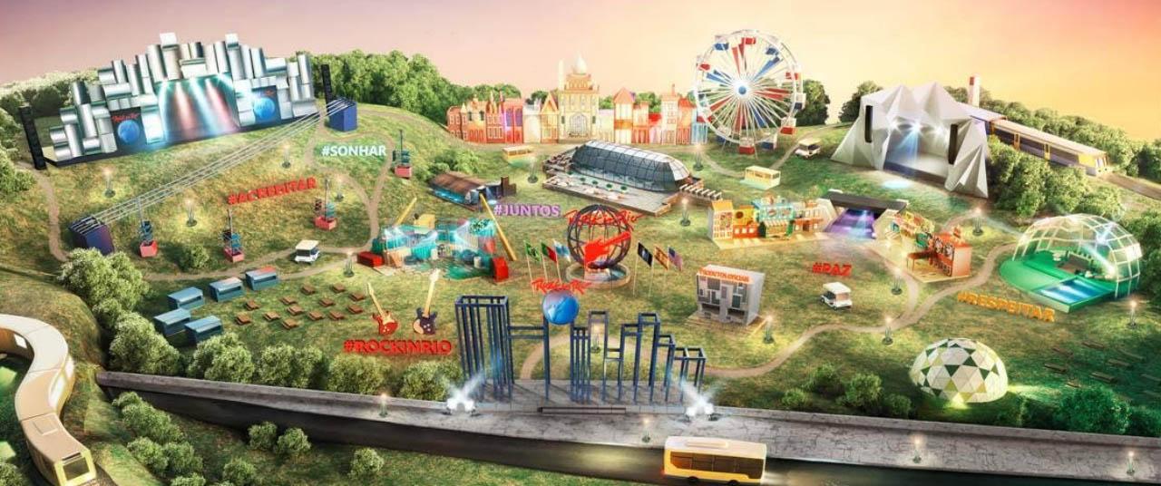 Ilustração de como será o evento no Parque da Bela Vista - nacionalidade portuguesa