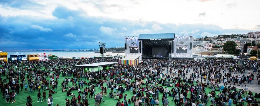 NOS Alive Festival - nacionalidade portuguesa