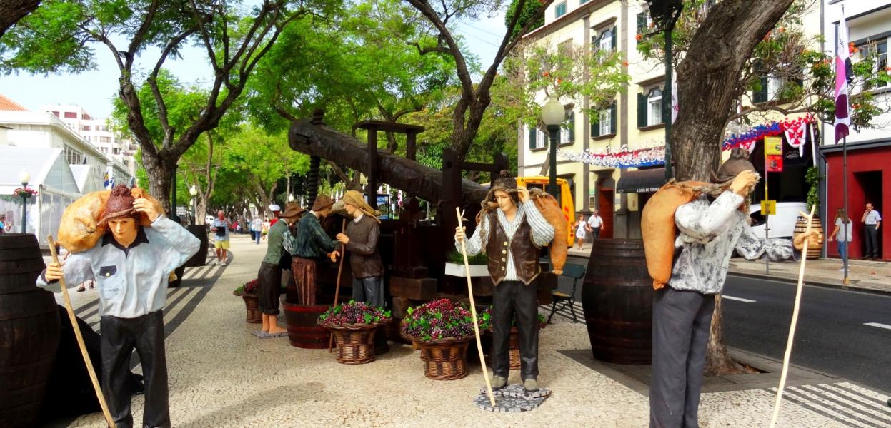festa do vinho em madeira - nacionalidade portuguesa