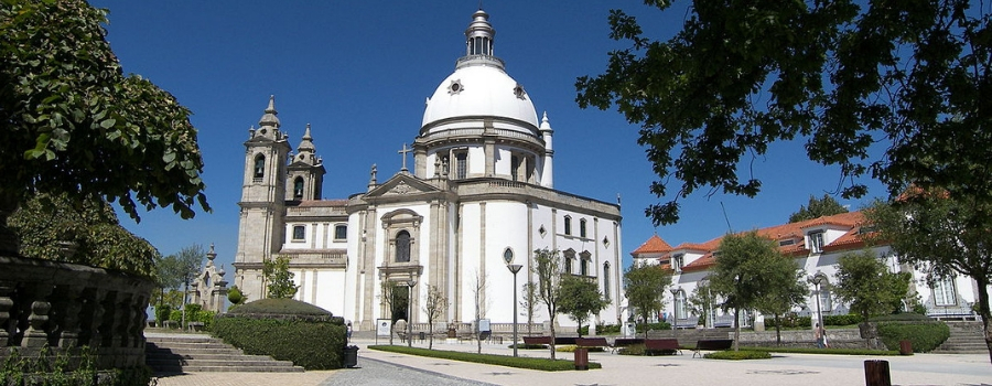 Santuário do Sameiro - nacionalidade portuguesa