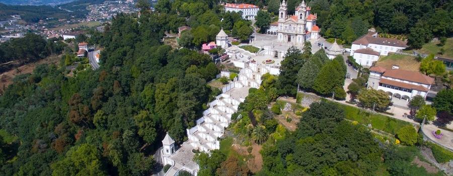 Santuário de Bom Jesus do Monte - nacionalidade portuguesa