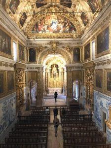 Museu nacional do Azulejo em Lisboa - nacionalidade portuguesa