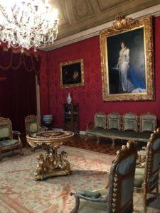 Palácio D'ajuda em Lisboa - nacionalidade portuguesa