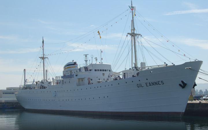 Navio Gil Eannes em Viana do Castelo