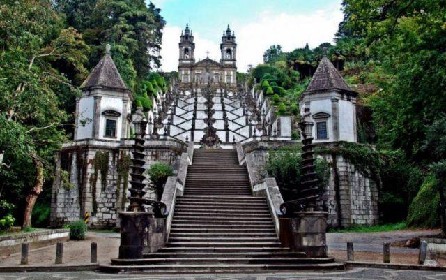 Santuario Bom Jesus - Nacionalidade Portuguesa