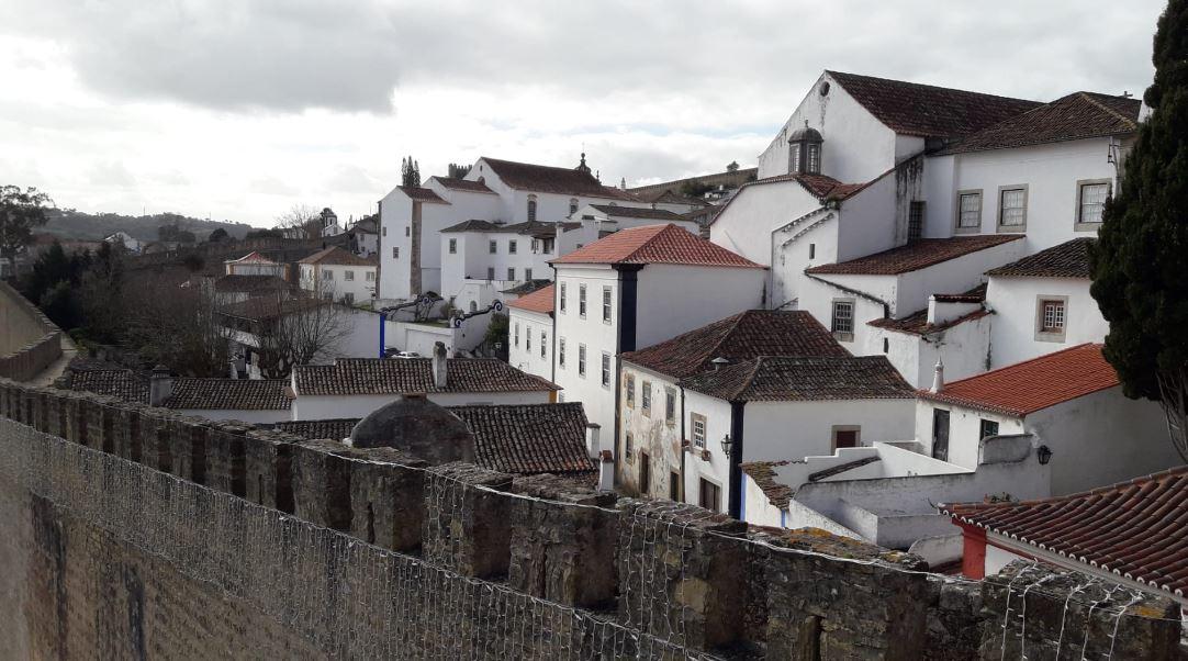obidos cidade murada - nacionalidade portuguesa