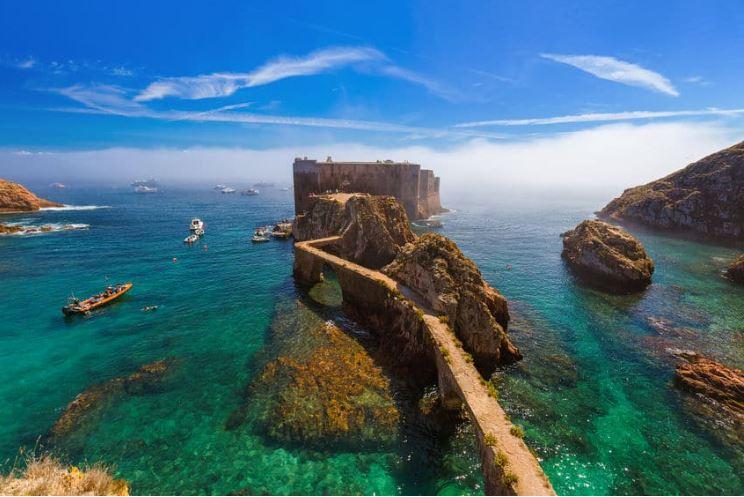 Forte das Berlengas - nacionalidade portuguesa