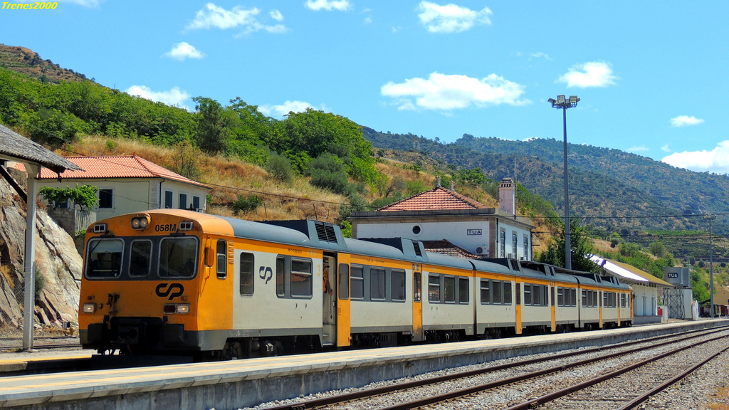 trem de portugal